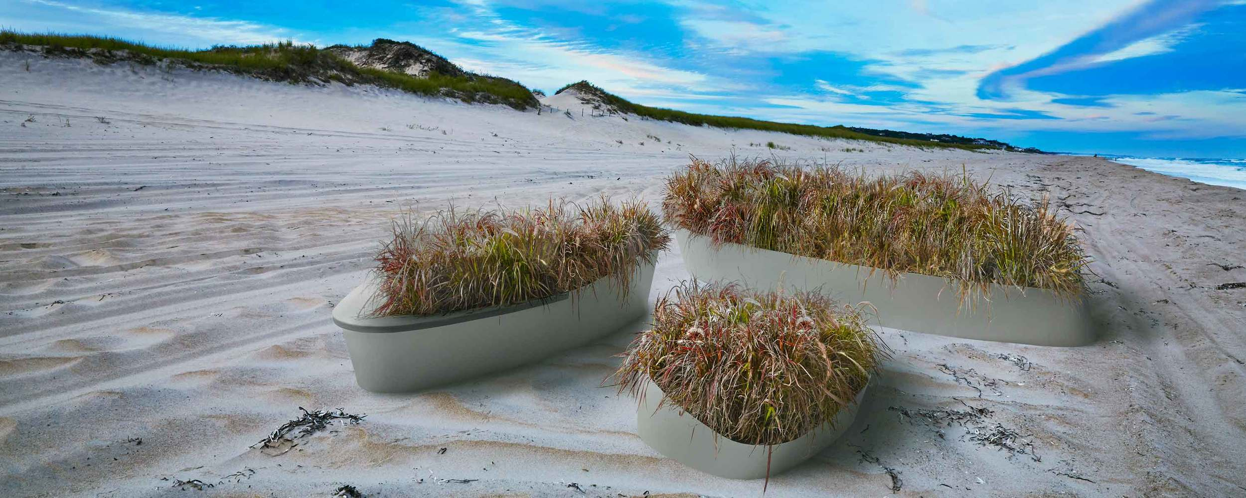 Dune Series Powder Coated Aluminum