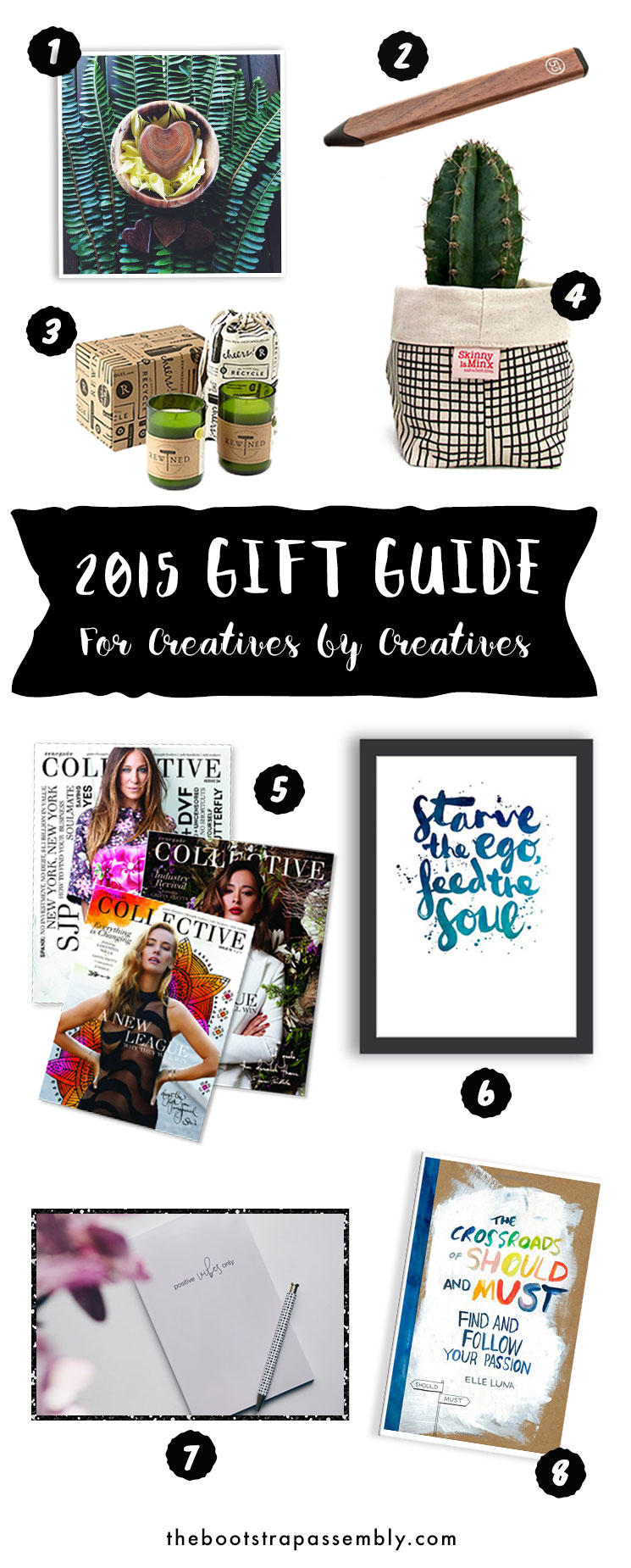 2015 Gift Guide For Creatives by Creatives