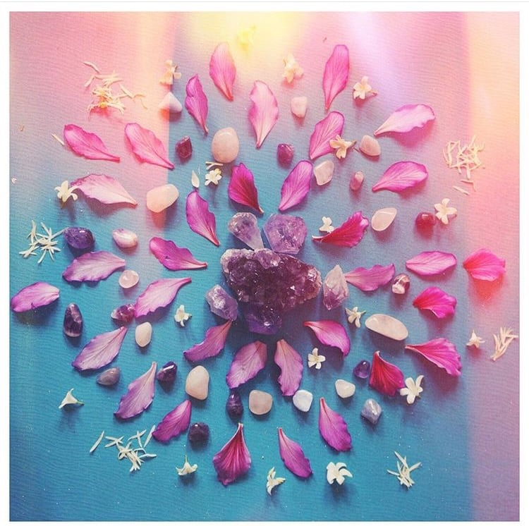 Flower Crystal Mandala