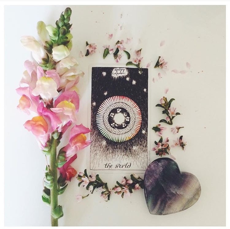 Wild Unknown Tarot Card Infinite Love Society