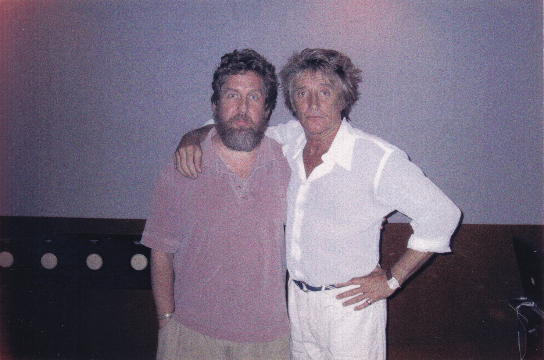 Al Hemberger and Rod Stewart