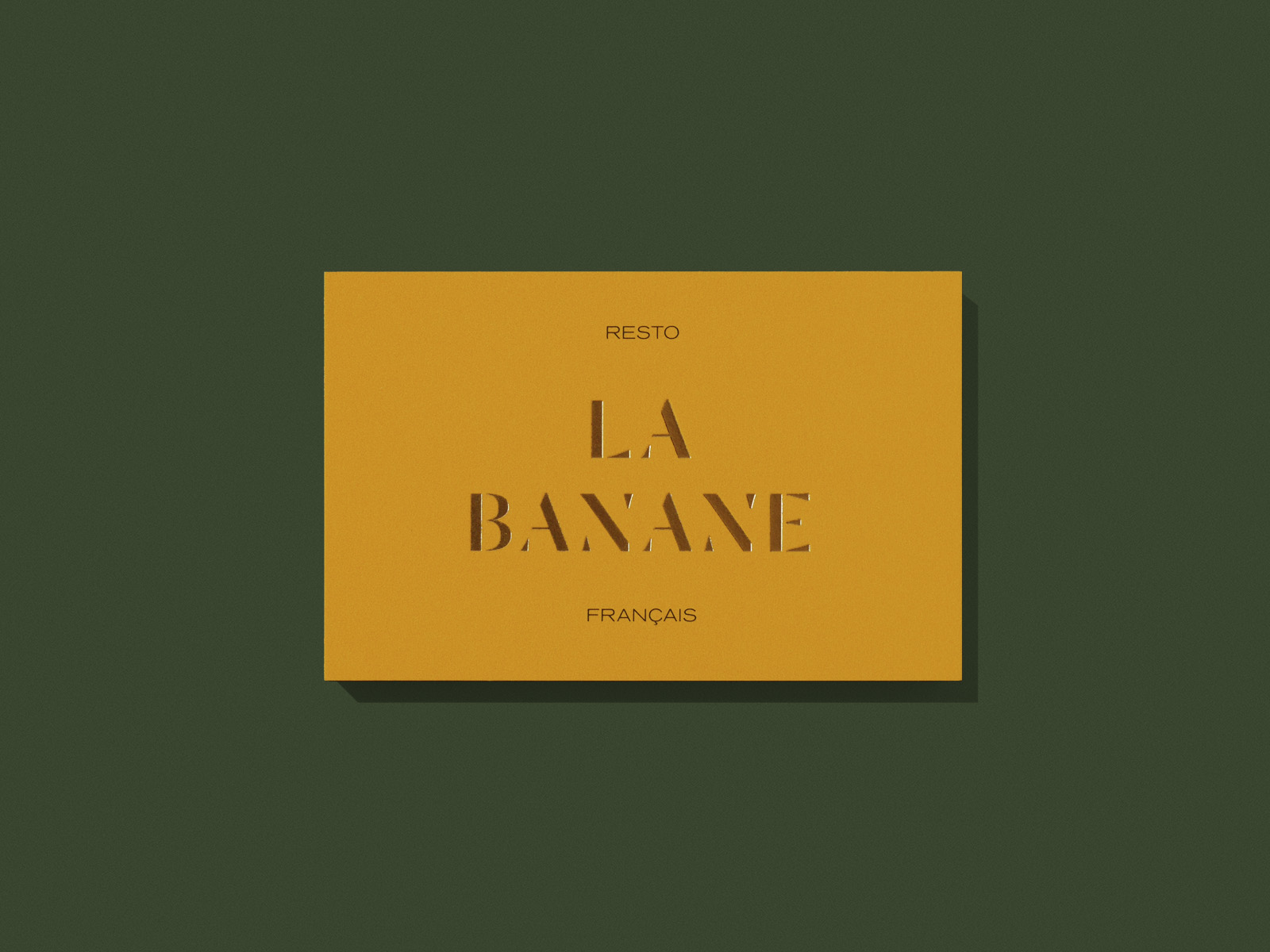 La Banane Branding