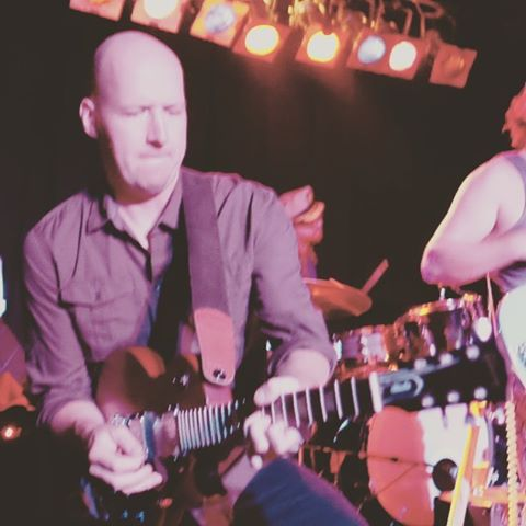 Oh and happy birthday to this guy! Come out and help Nasty Nate celebrate another fabulous year around the sun tonight at Union Street Station! #supershredder #guitar #passion