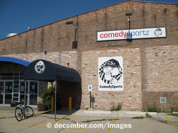 The original ComedySportz Milwaukee