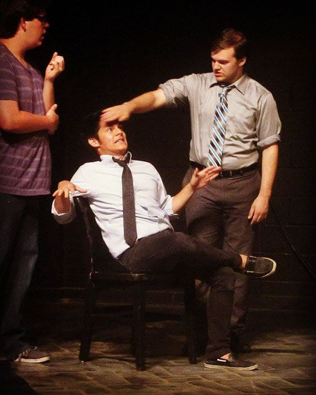 #throwback to Brendon Duran, Max Holkan and Vic Shuttee playing together in 2012! The guys of Flirt Reynolds have playing together with CSz and on indie groups for over five years, performing in Houston and around the country  at theaters, comedy clubs, punk rock venues, and festivals including Out of Bounds Comedy Festival, The Fracas! Improv Festival and Trill Comedy Festival. Catch them tonight at 8 in The EaDo Comedy Show- w/ Flirt Reynolds & Sleepover Boys! . . #thingstodoinhouston #houston #houstonimprov #houstoncomedy #improvcomedy #tbt #throwbackthursday