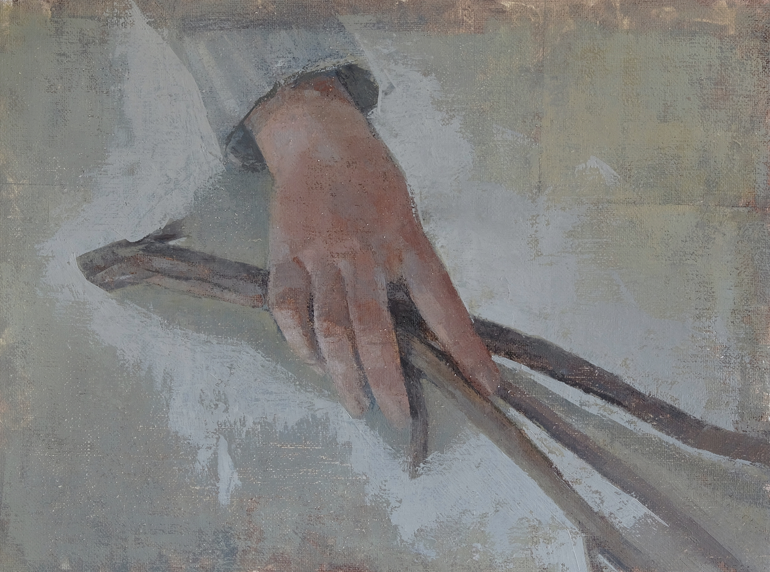 Hand and Twig