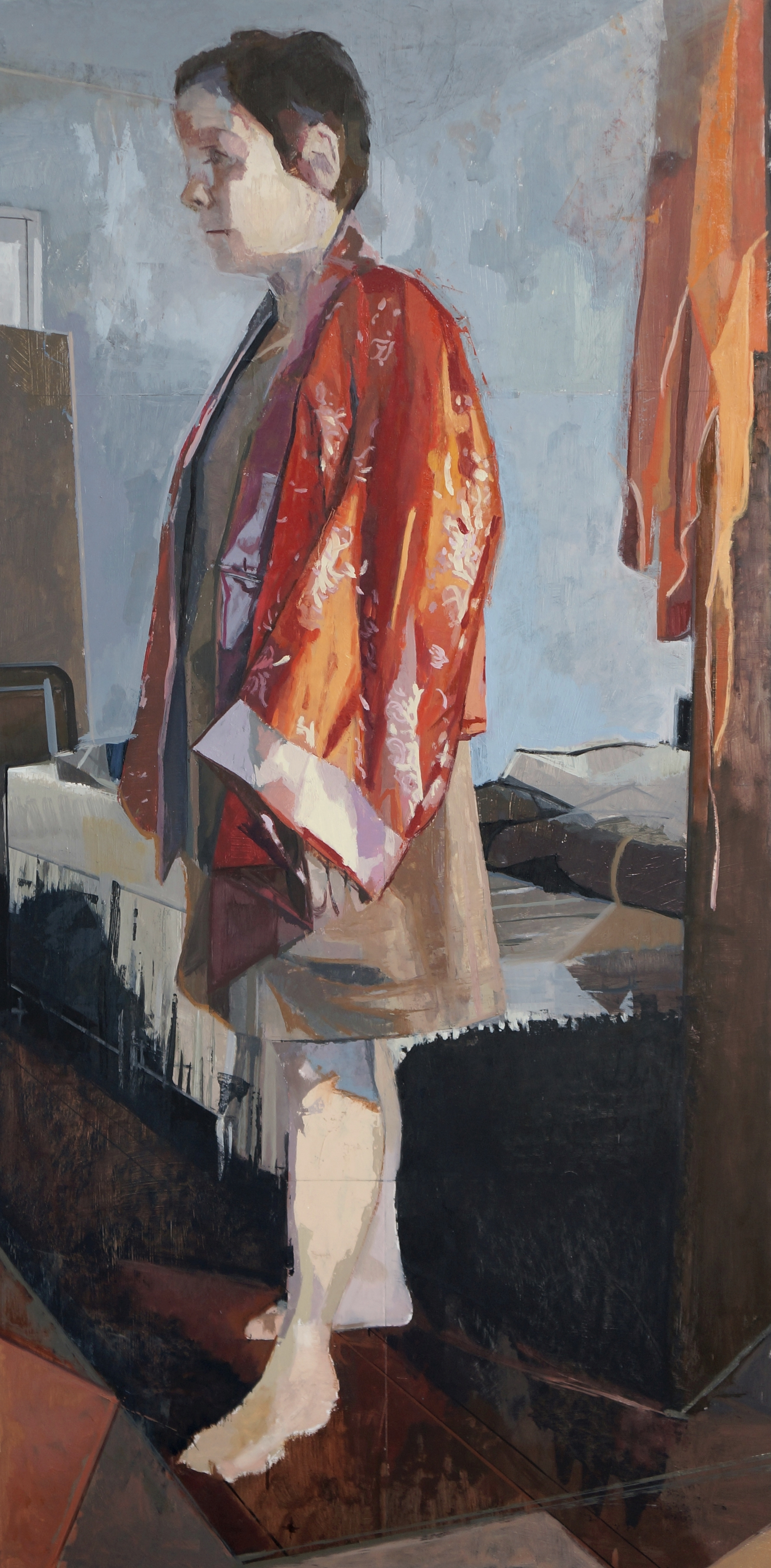Figure in Red Robe