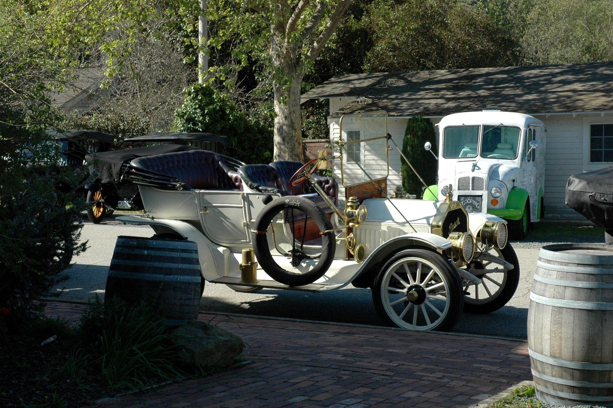car and cream truck.jpg