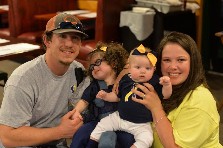 Chad, Talynn, Tinlee & Taylor Gurganus