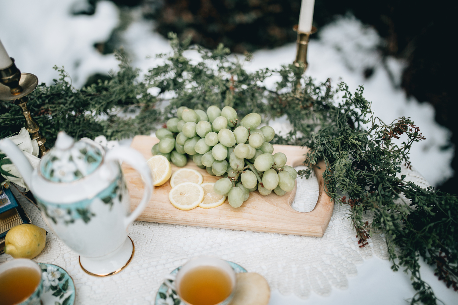 DETAILS  Styling by: Lucy Bergstrom  Photography by: Alice Cannon  Rentals provided by: Refined Vintage Events