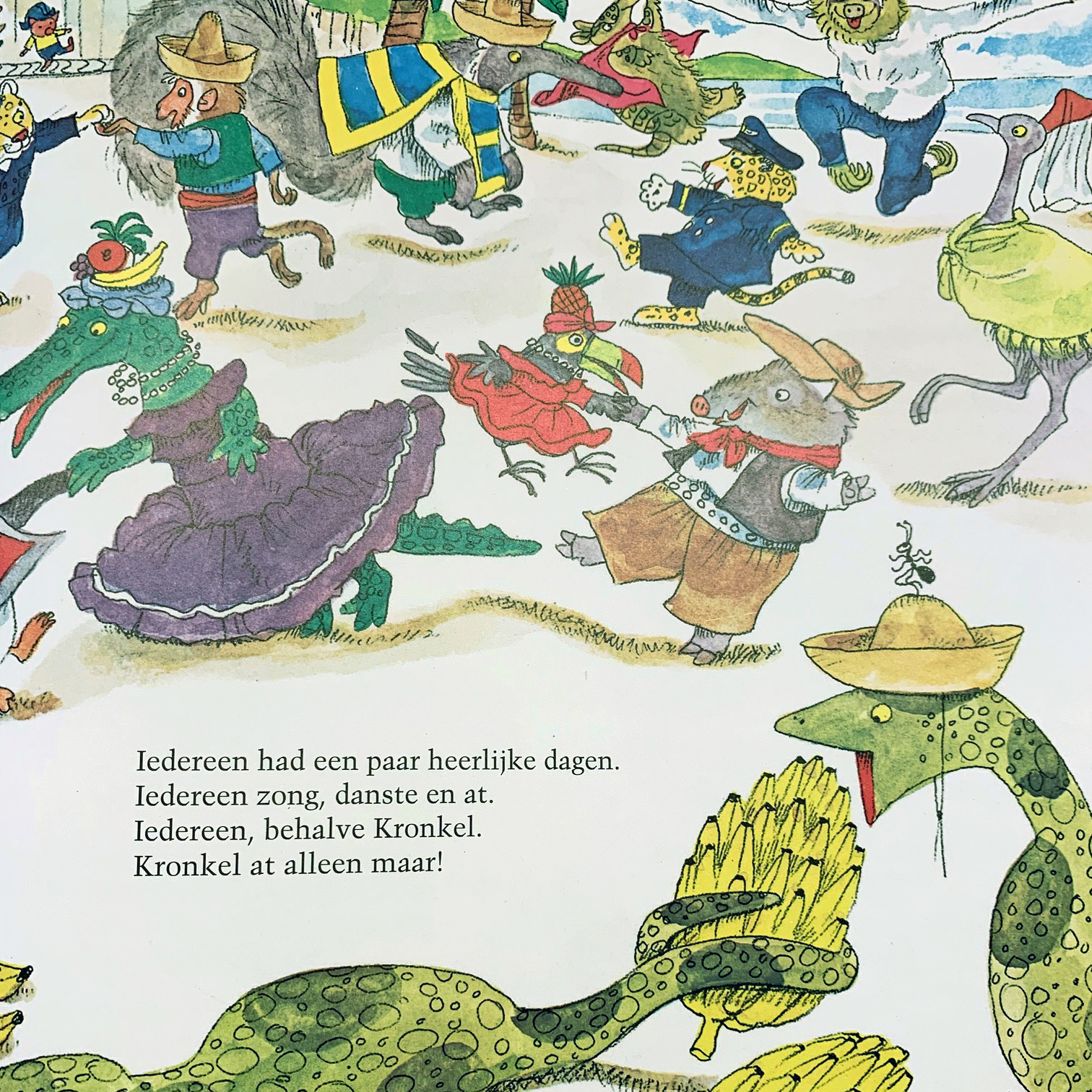 """""""Mijn Leuke, Reis Rond de Wereld,"""" Richard Scarry, 1965"""