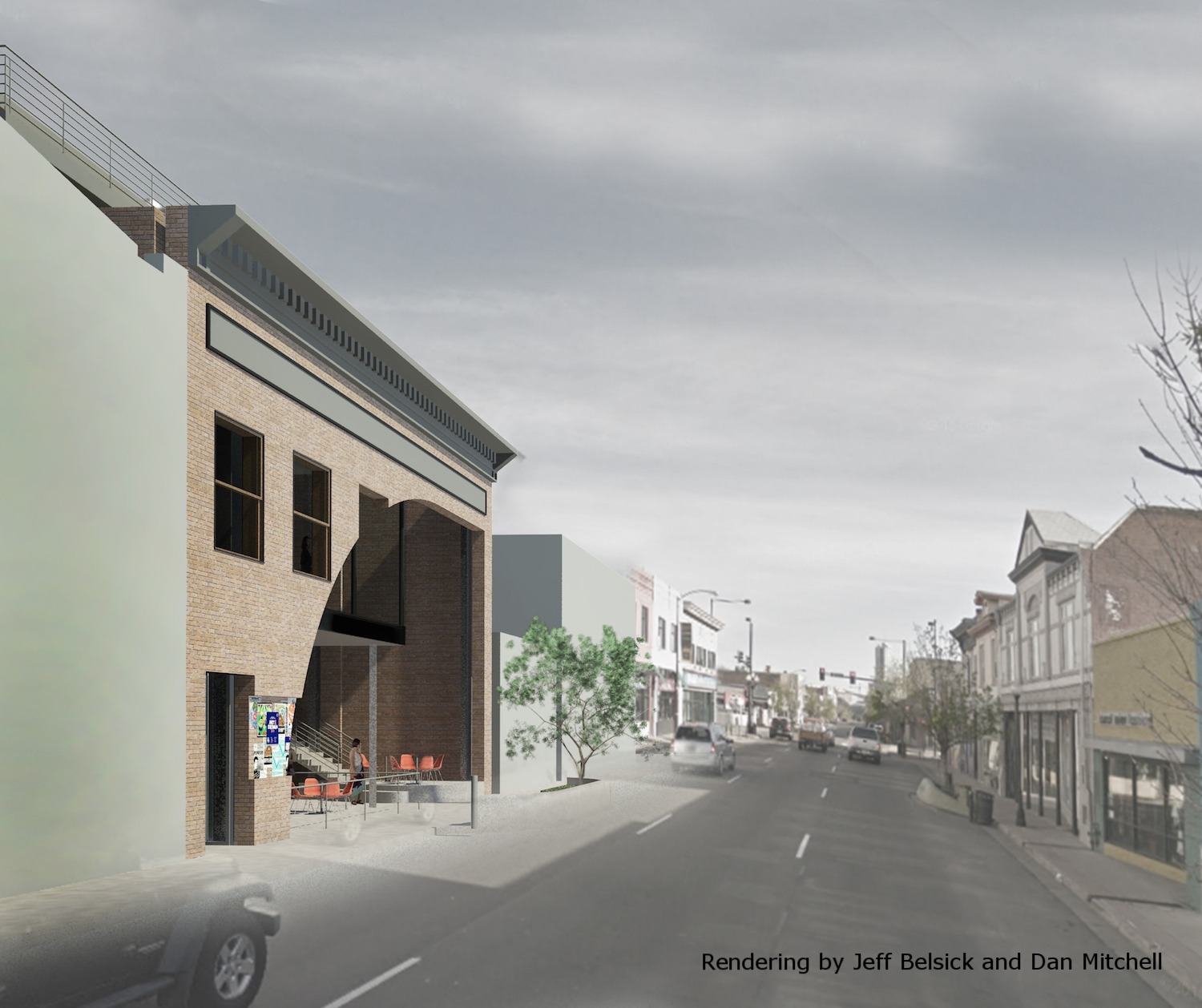 Rendering by Jeff Belsick and Dan Mitchell