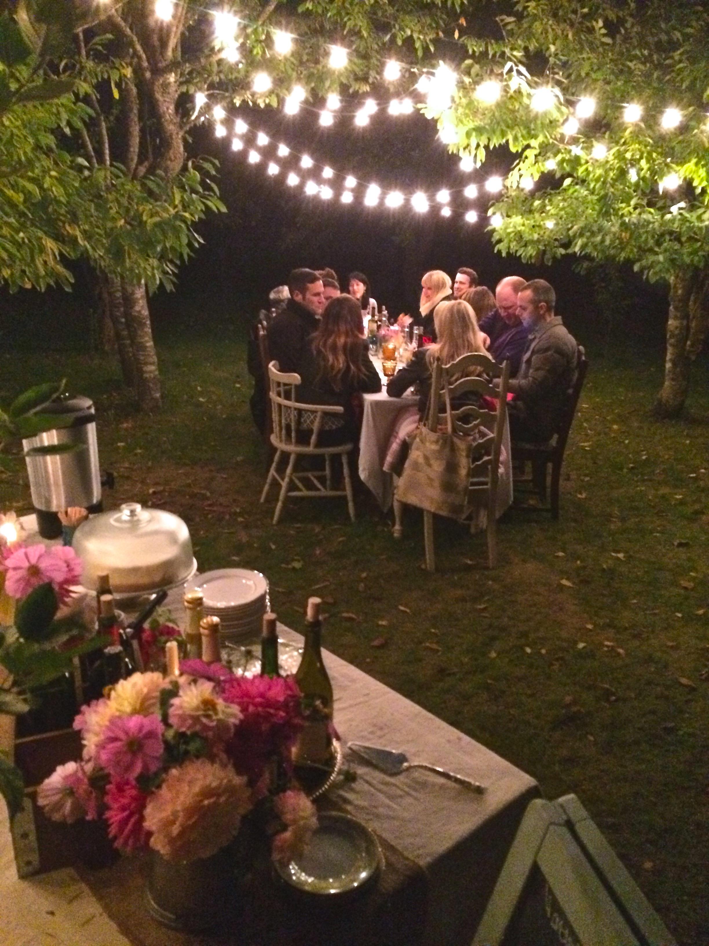 Fashion Boutique Anniversary Dinner in the Orchard II www.ciderpresslane.com