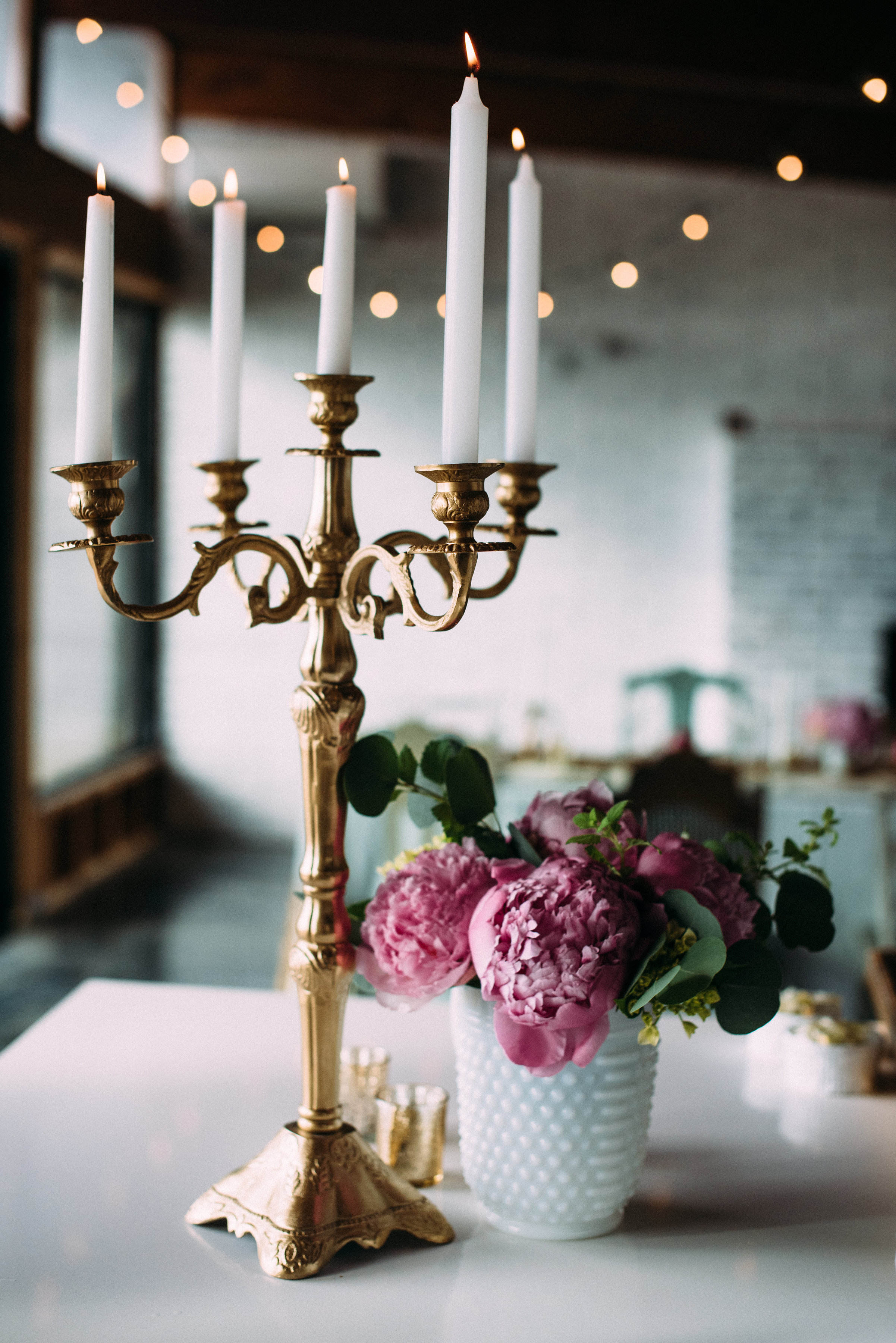 These candelabras from Unique & Chic are amazing!