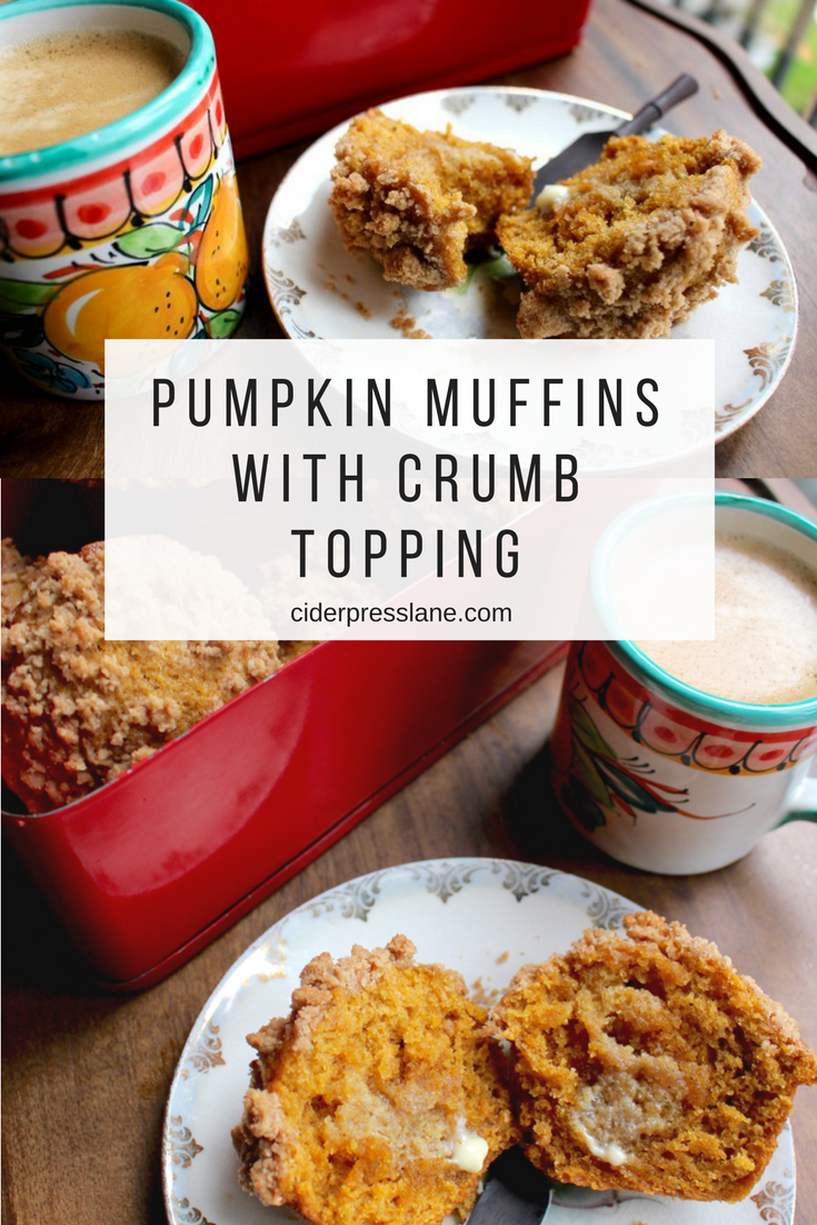 pumpkin muffins with crumb topping breakfast recipe bread fall.png