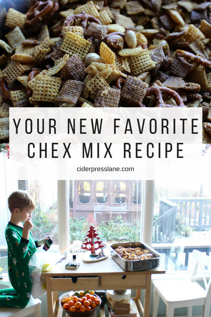 Smells Like Christmas Our Favorite Chex Mix Ciderpress Lane