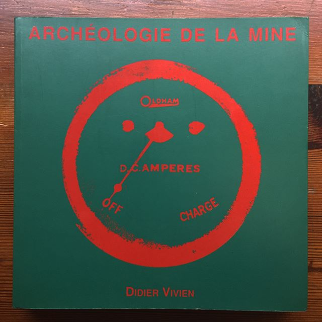 Archeologie de la Mine. Didier Vivien, 1994. Compelling and largely unknown photobook that explores the site of a former coal mine (interestingly, also where 1,100 miners died in Europe's most deadly mining disaster) and its modern transition into a generic suburban area. $40. DM or mail@beached-whale.com if you're interested. #photobookjousting #coal #mining #newtopographics