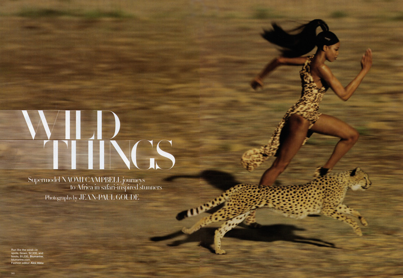 Naomi Campbell for Harper's Bazaar, 2009