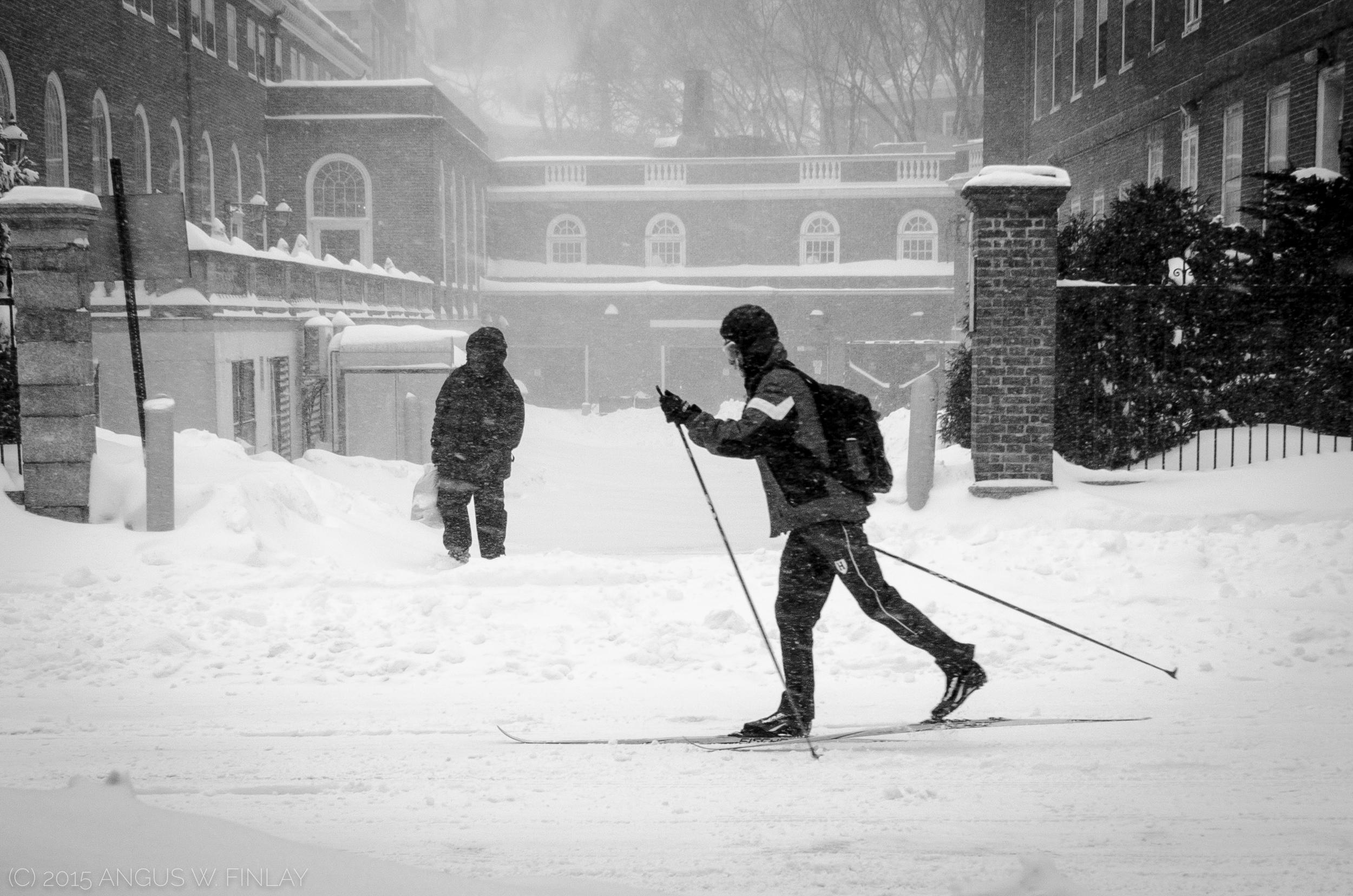 Skier Commute