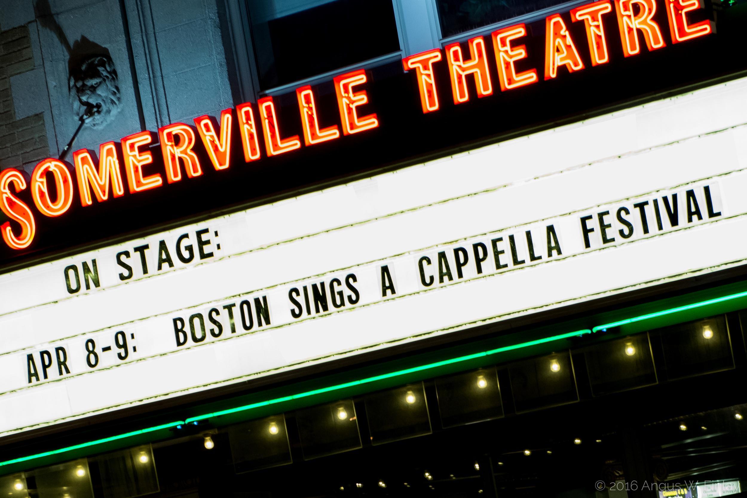 Boston Sings A Cappella Festival