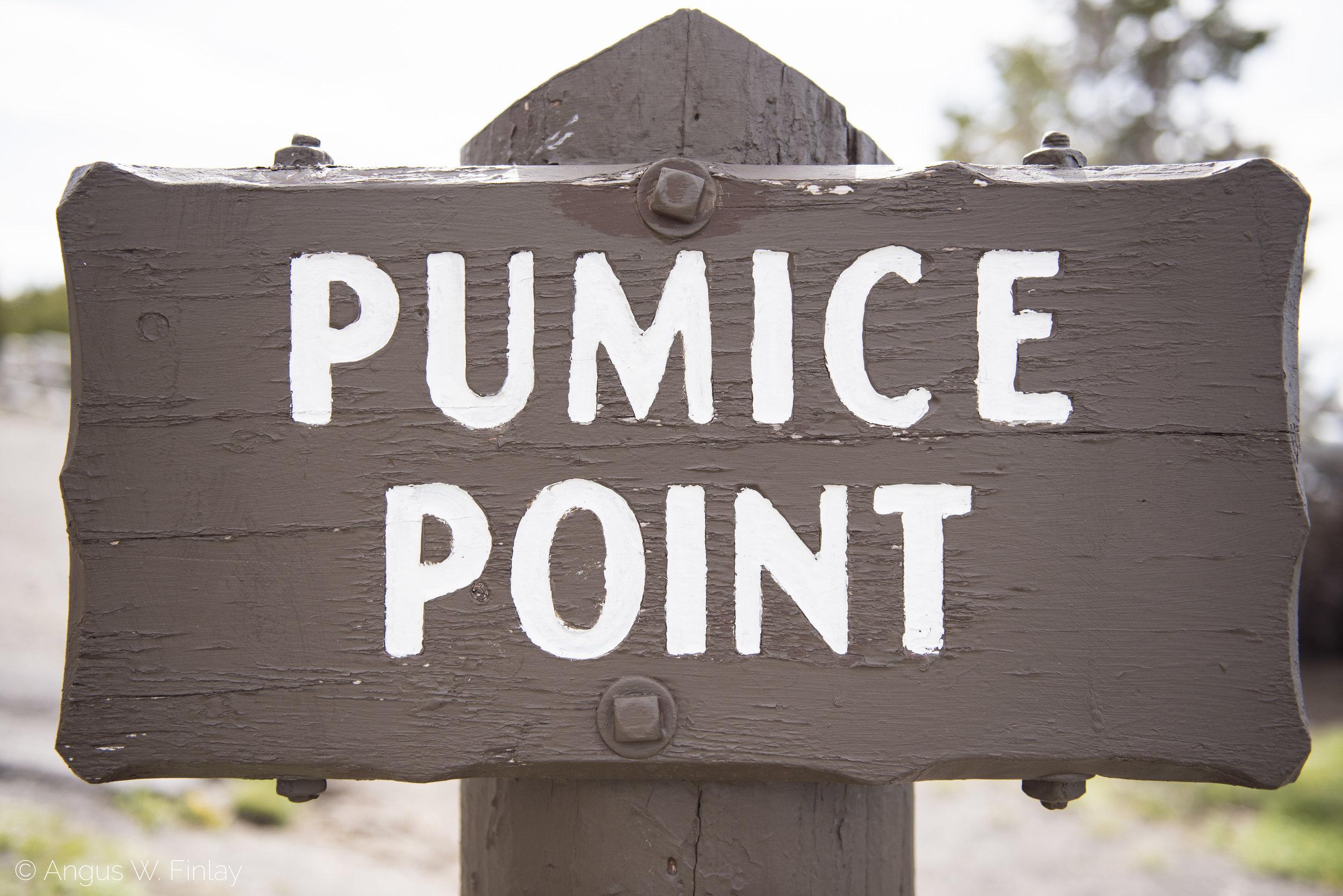 Pumice Point