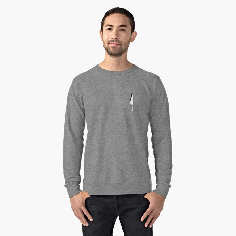 Back Stabber Logo Lightweight Sweatshirt by Dead Glass Design/ @Slightlysketchy