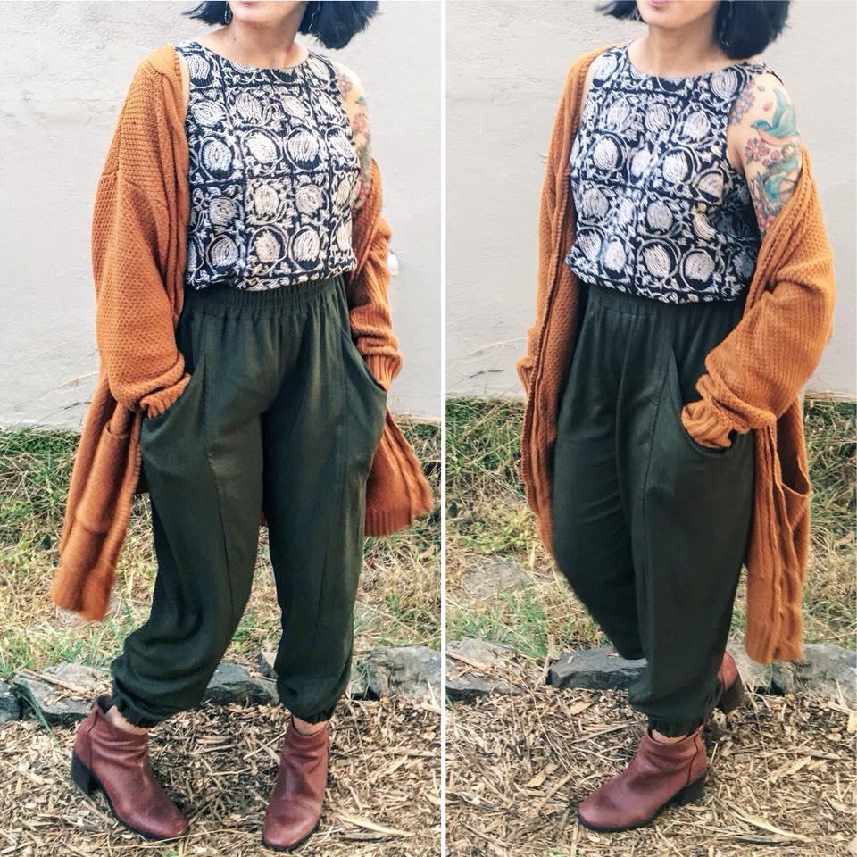 Tank top and pants