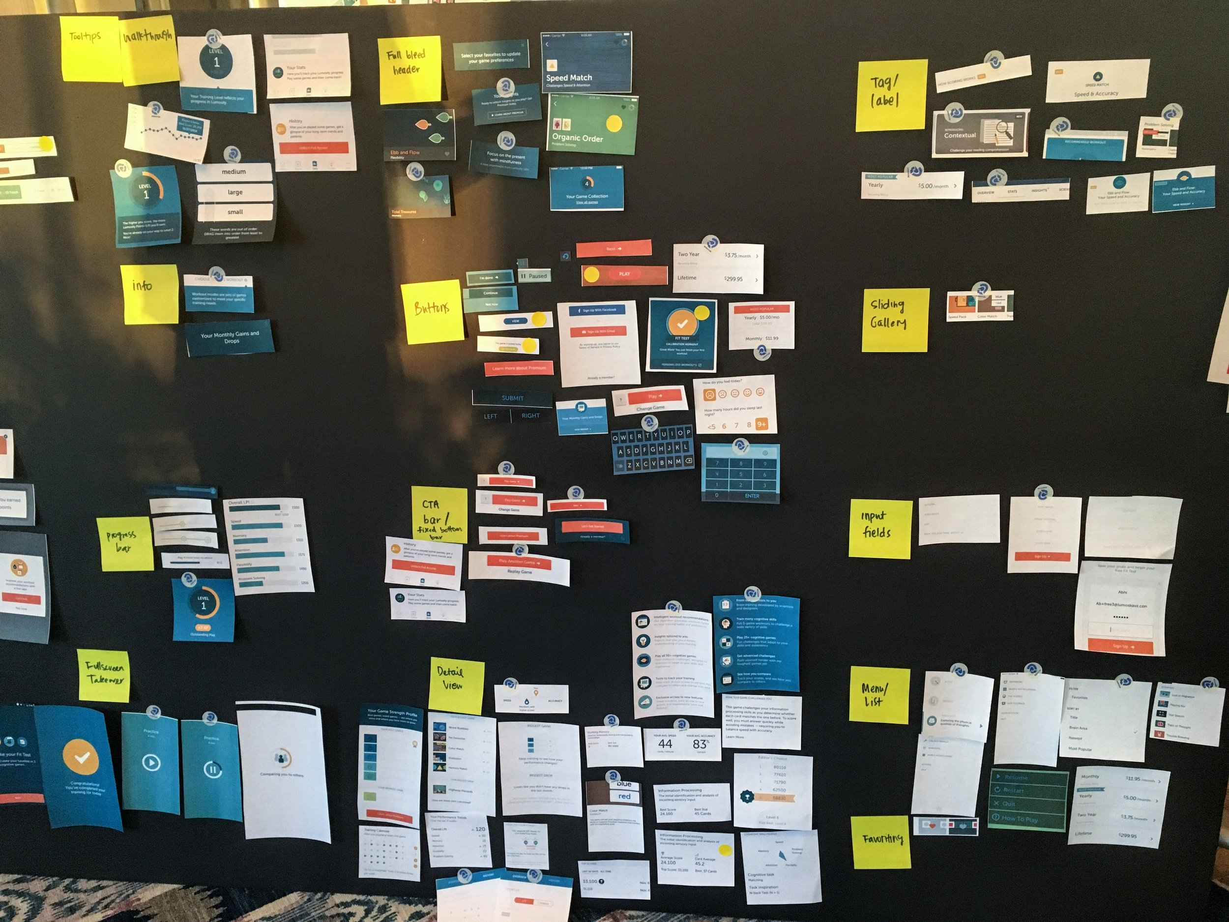 Evolving the Lumosity Design Language — Roxanne Cook