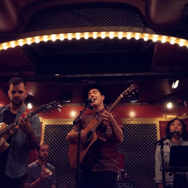 The band will be heading back to Pete's Candy Store in Brooklyn on Nov 30, 9PM set! 'Twill be a cause for celebration, join us! | 📷: @shereshe . #folk #folkmusic #sing #singer #singersongwriter #brooklyn #brooklynmusic #brooklynmusician