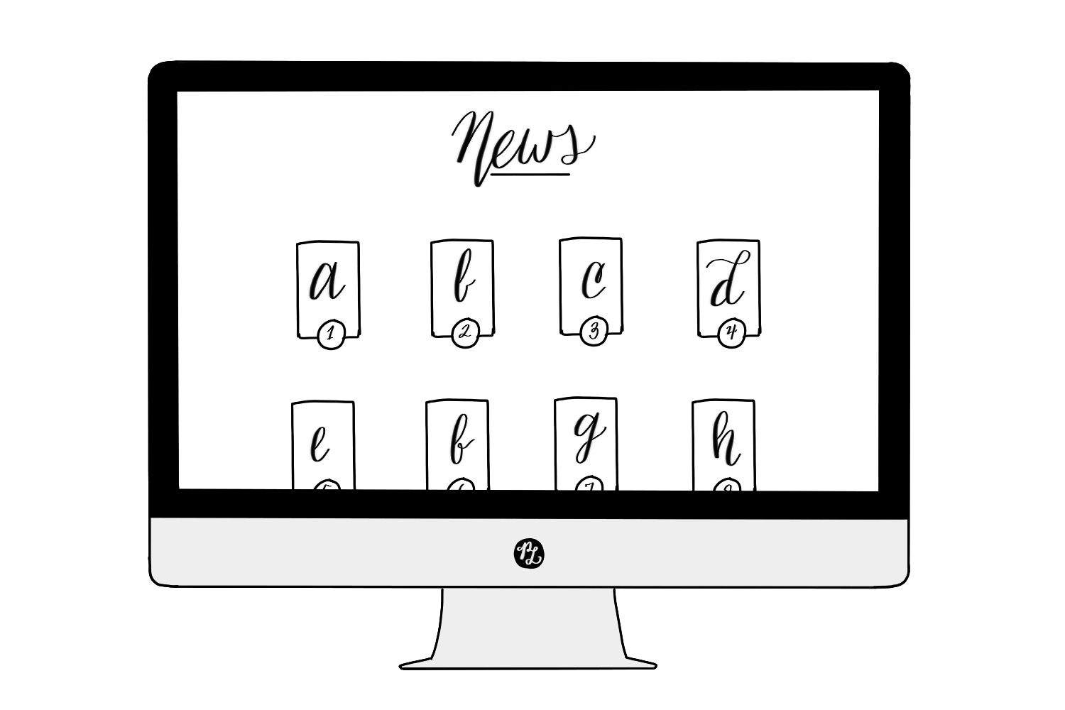 How to choose the Right Squarespace Template based on 7 Website Categories– Article Grid Template — PACIFIC LETTERS –  pacificletters.co...