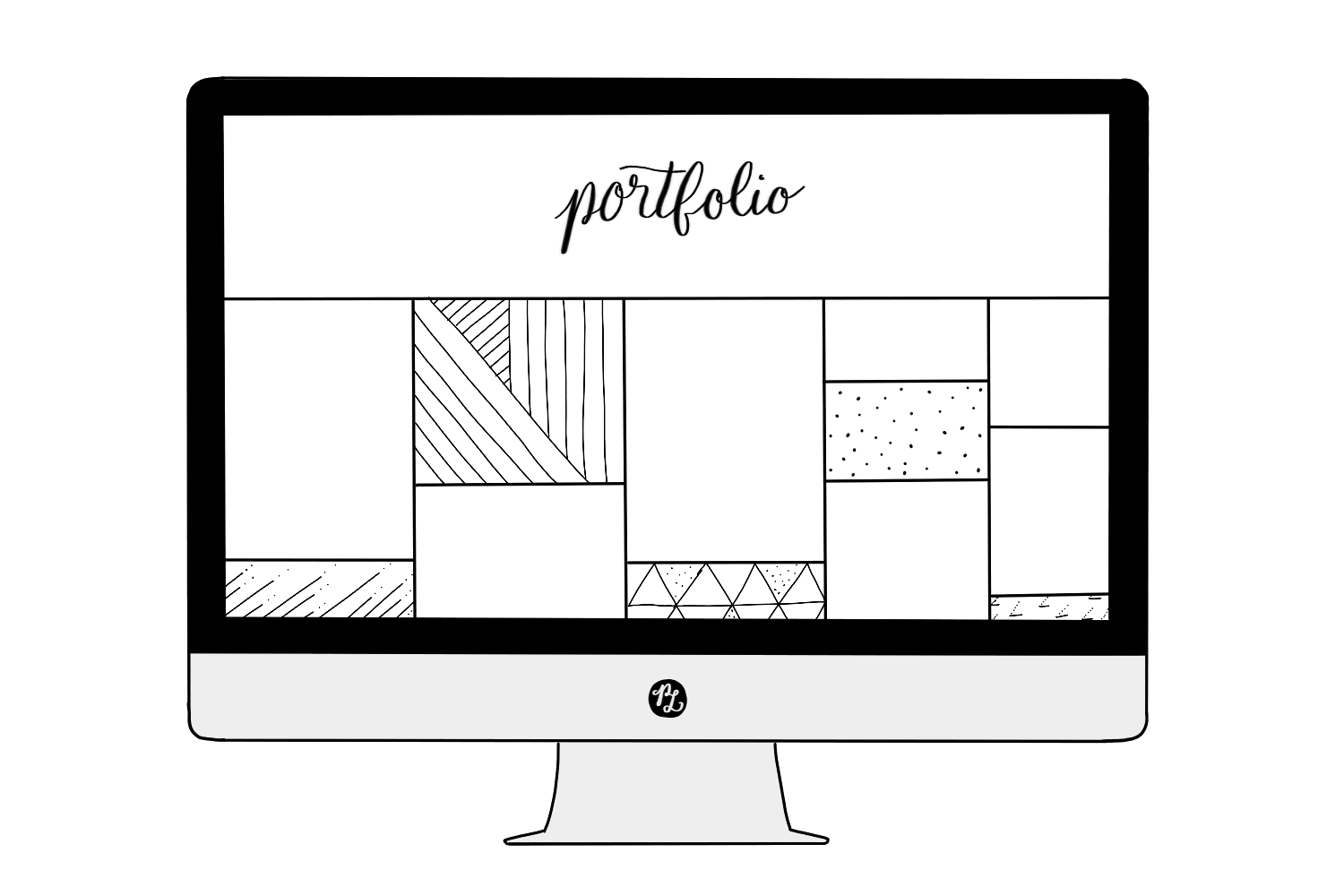 How to choose the Right Squarespace Template based on 7 Website Categories– Image Grid Template — PACIFIC LETTERS –  pacificletters.co...