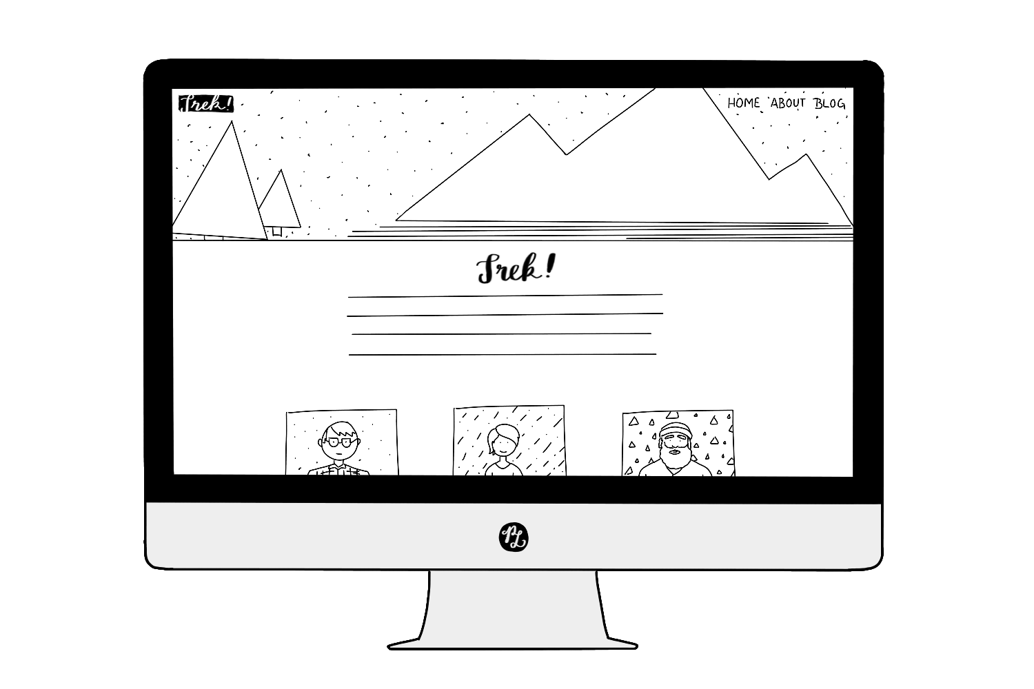 How to choose the Right Squarespace Template based on 7 Website Categories– Standard Template — PACIFIC LETTERS –  pacificletters.co...