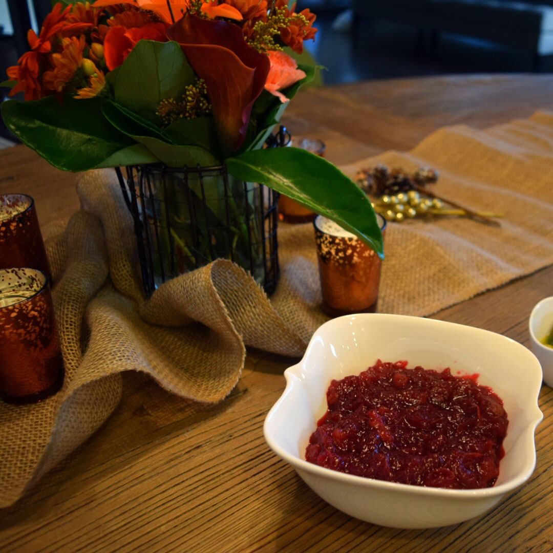 Courtesy of Moi : Cranberry Sauce