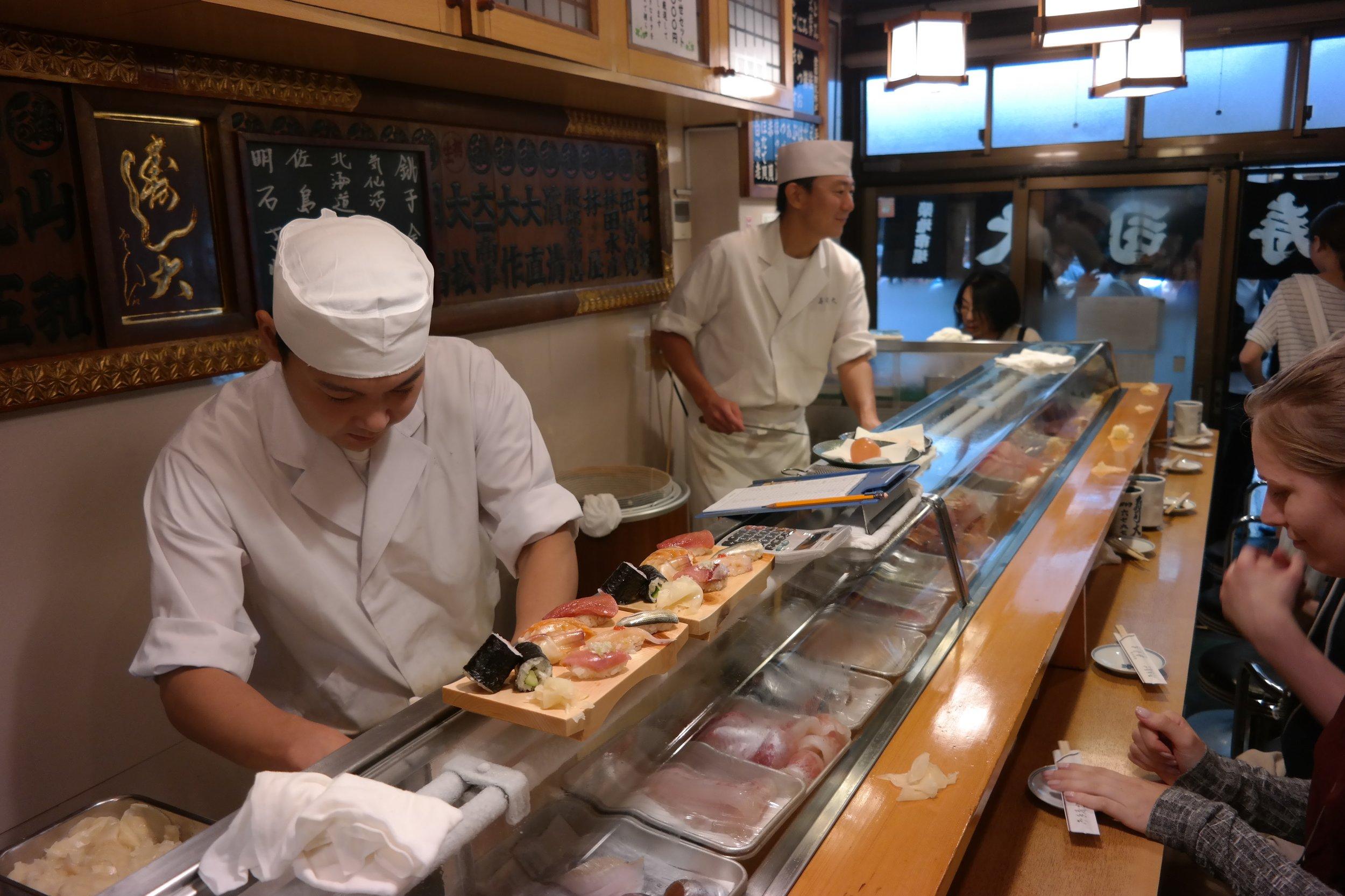 Sushi Dai - Tsukiji market