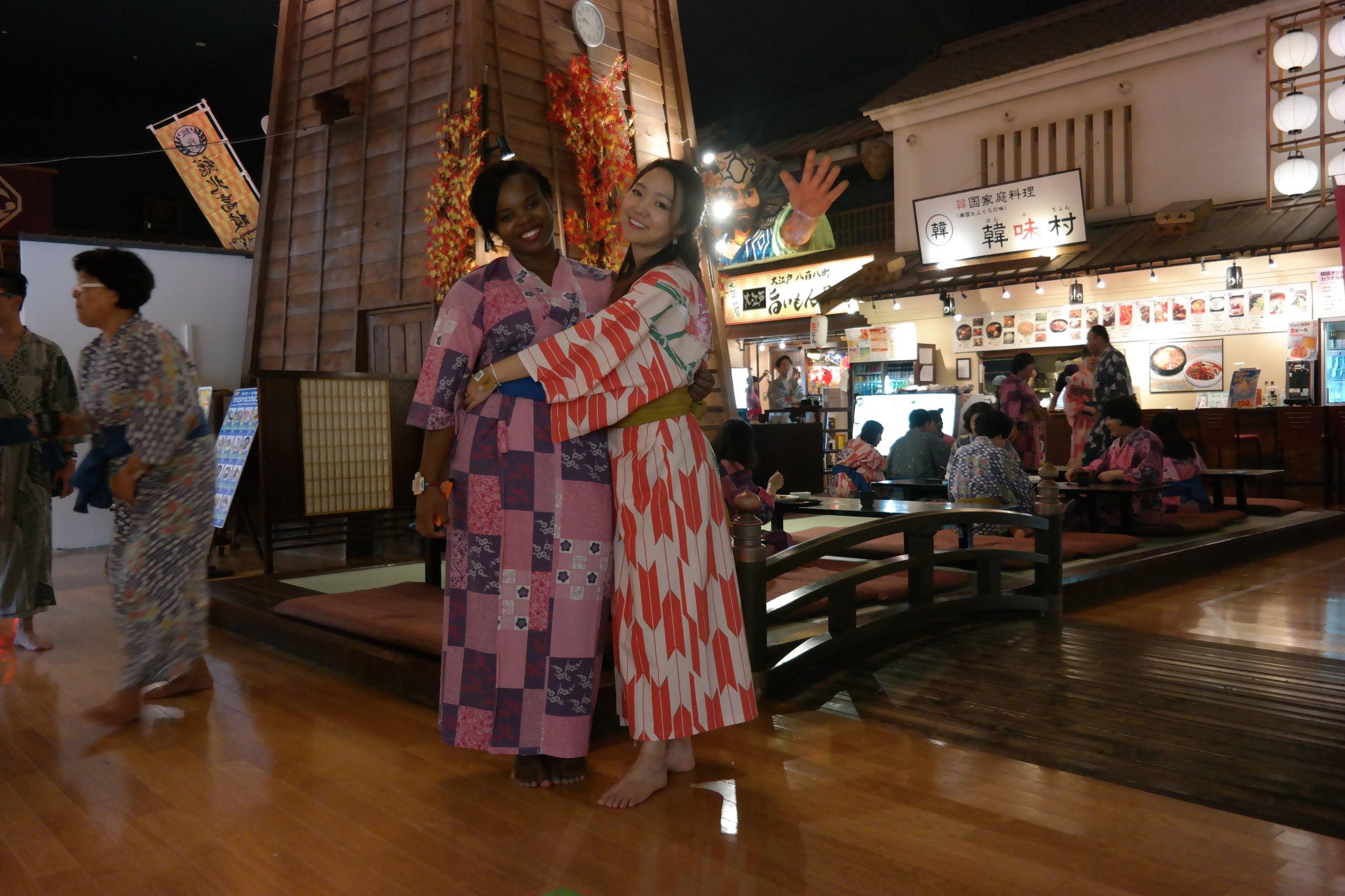 Inside Onsen Monogatari