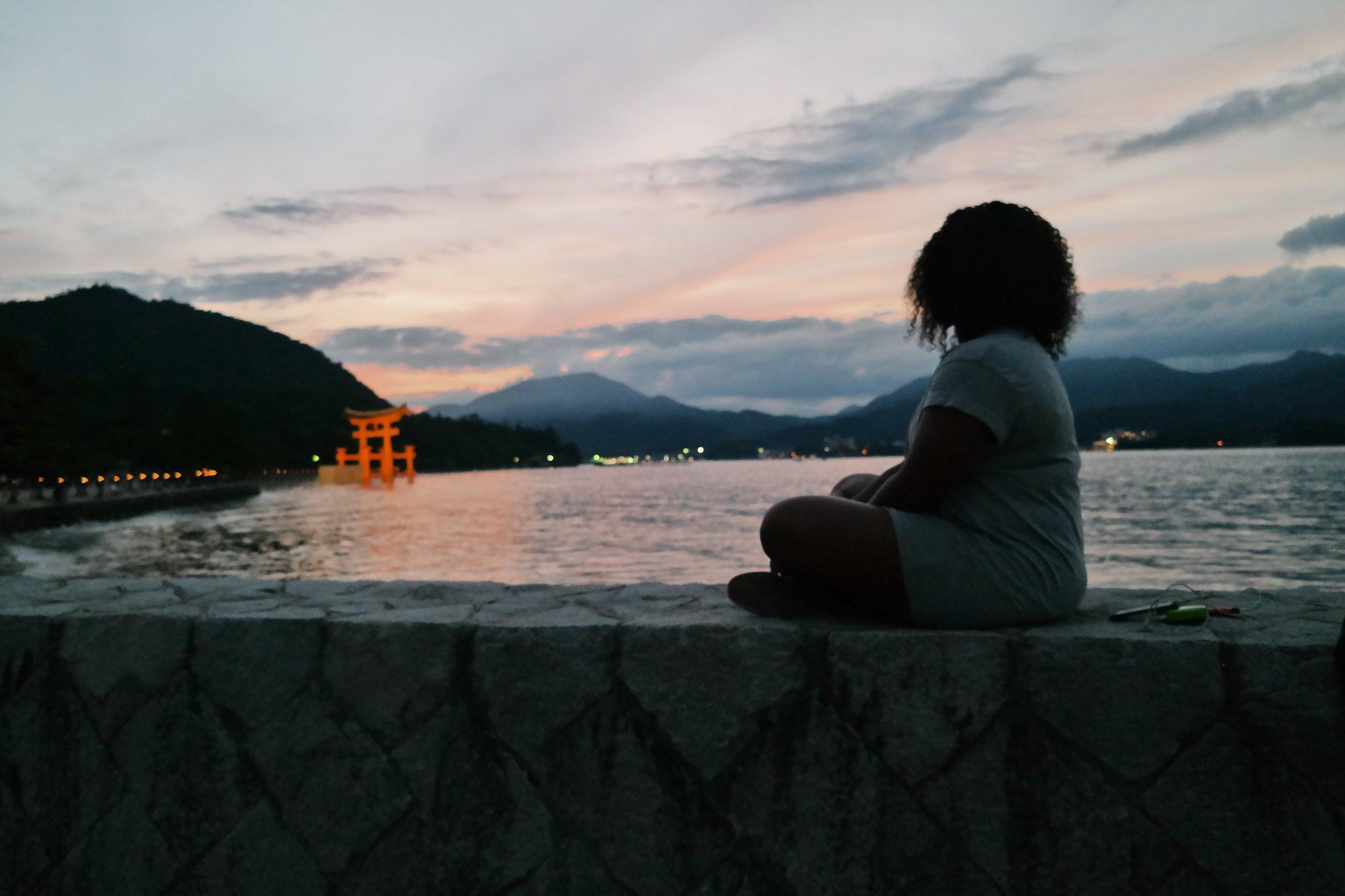 Miyajima at Sunset