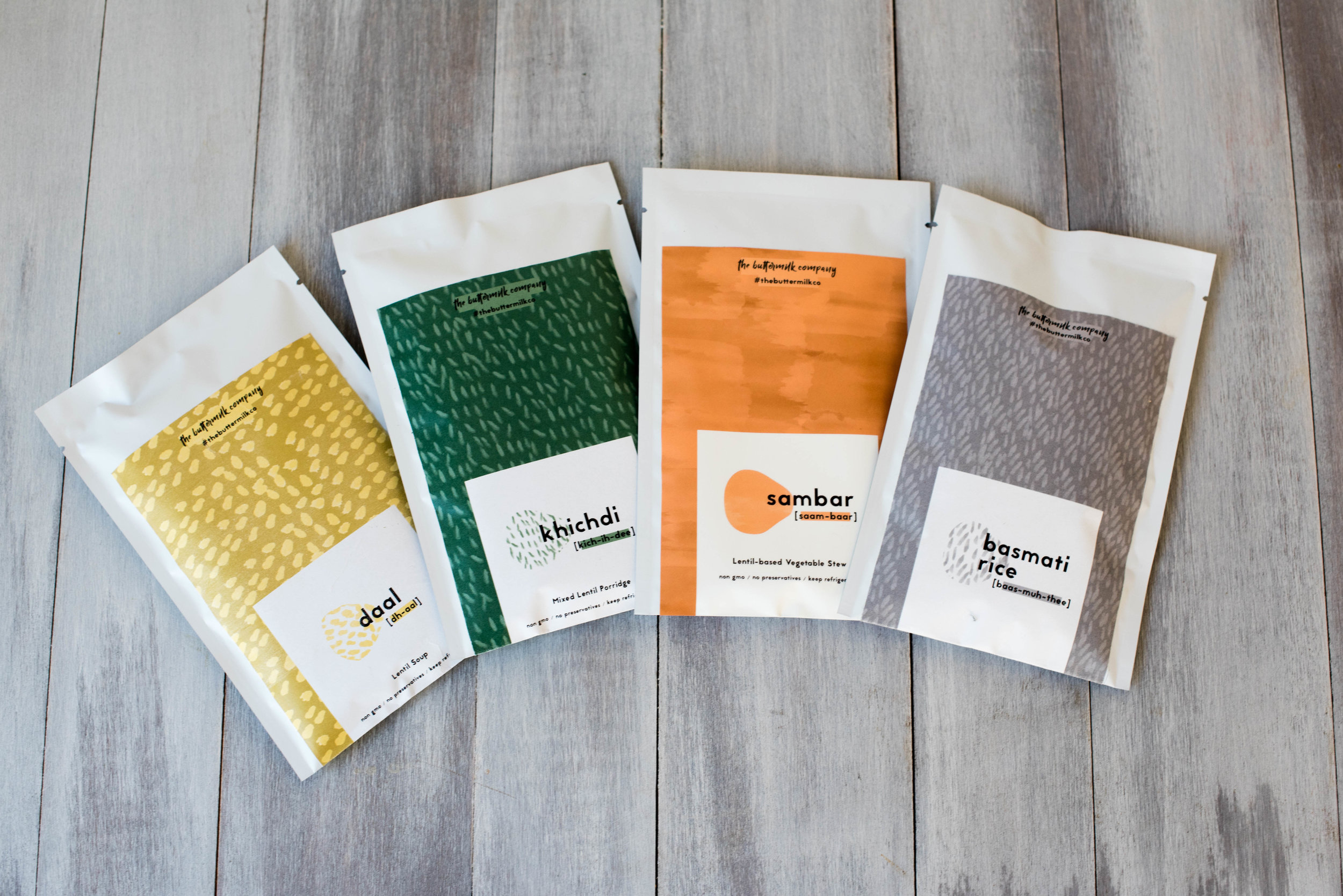 The Buttermilk Company meal packets