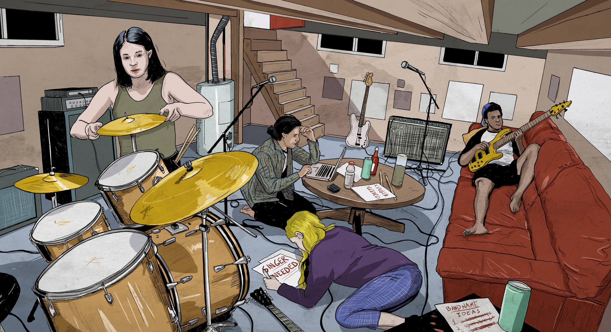 How to Start a Band by Zachary Lipez