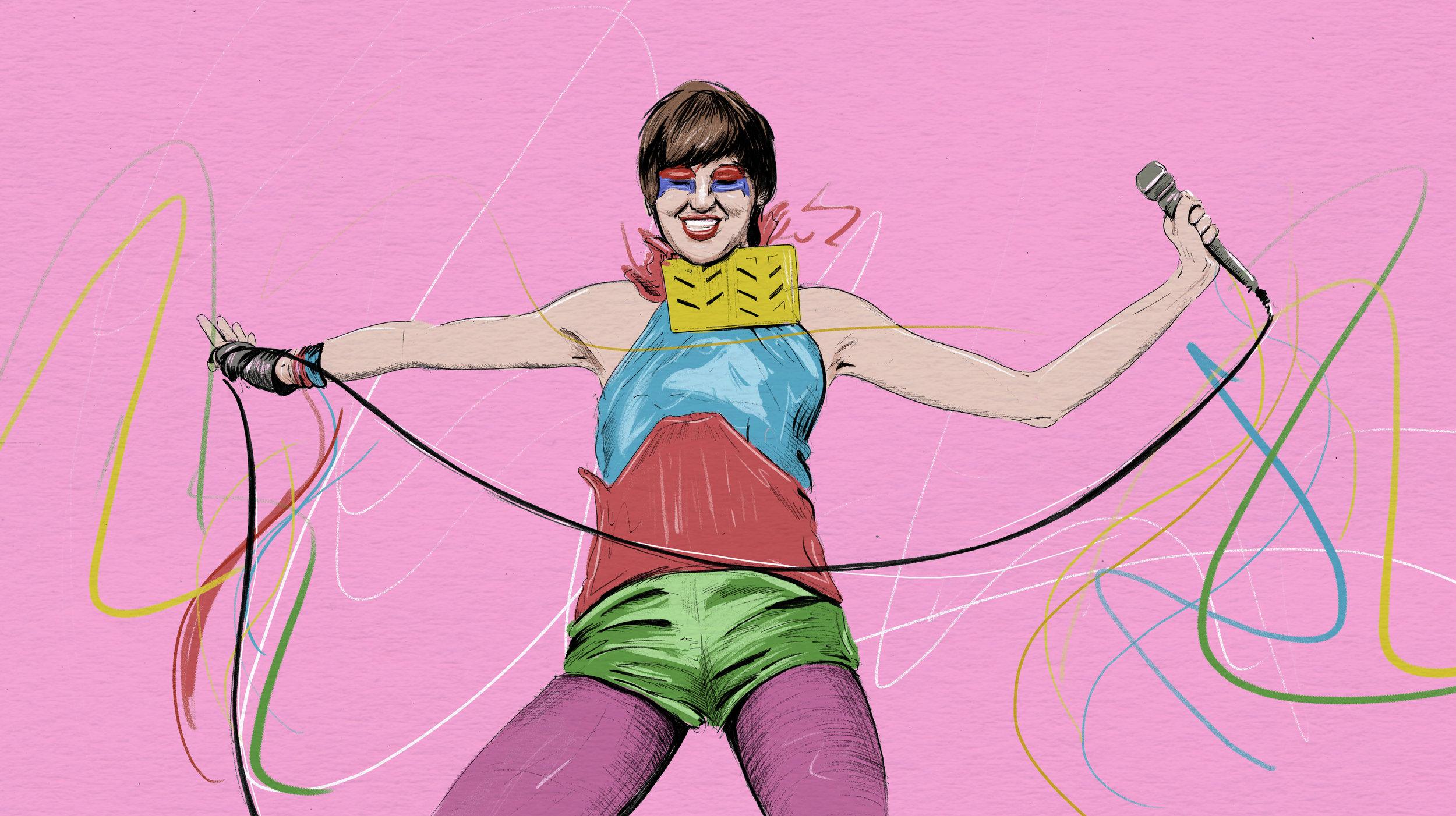 Karen O Is Indie Rock's Beating Heart by Sarah MacDonald
