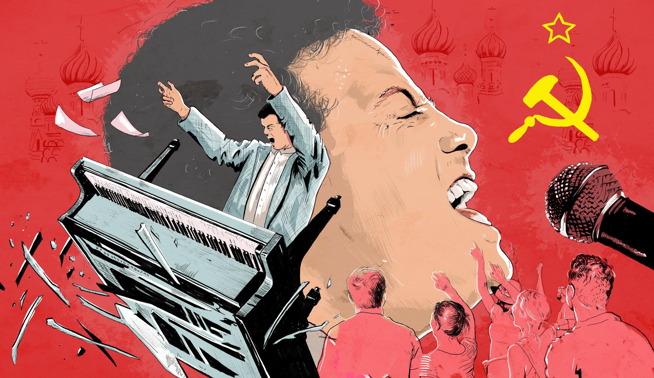 30 Years Ago, Billy Joel Had a Meltdown in Moscow by Dan Ozzi