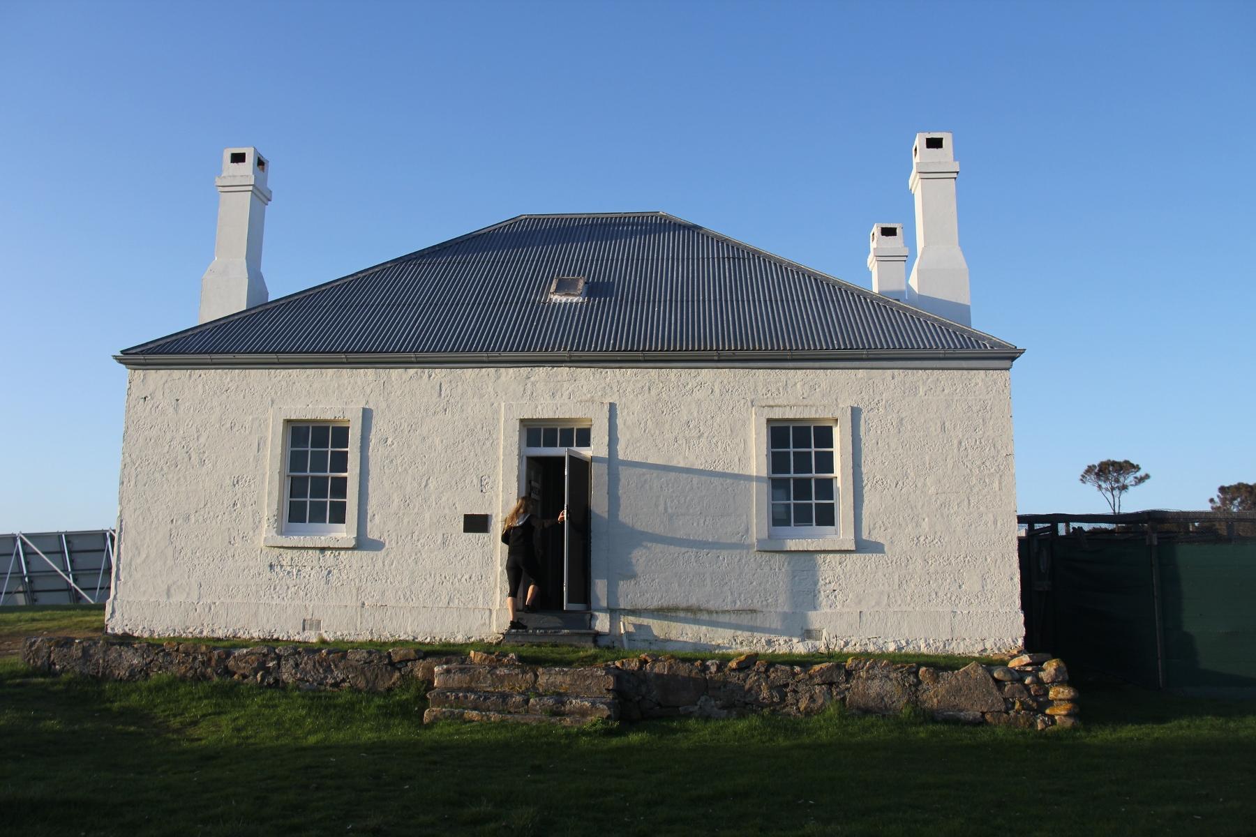 Deal Island original homestead, now a museum.