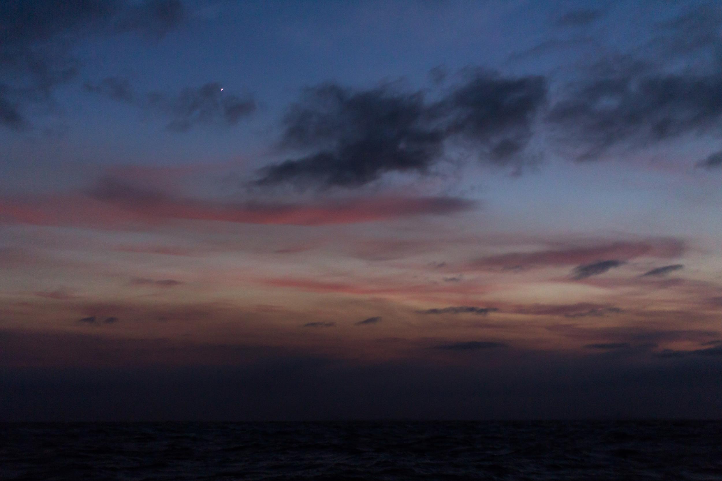 Looking East toward the Sunrise.