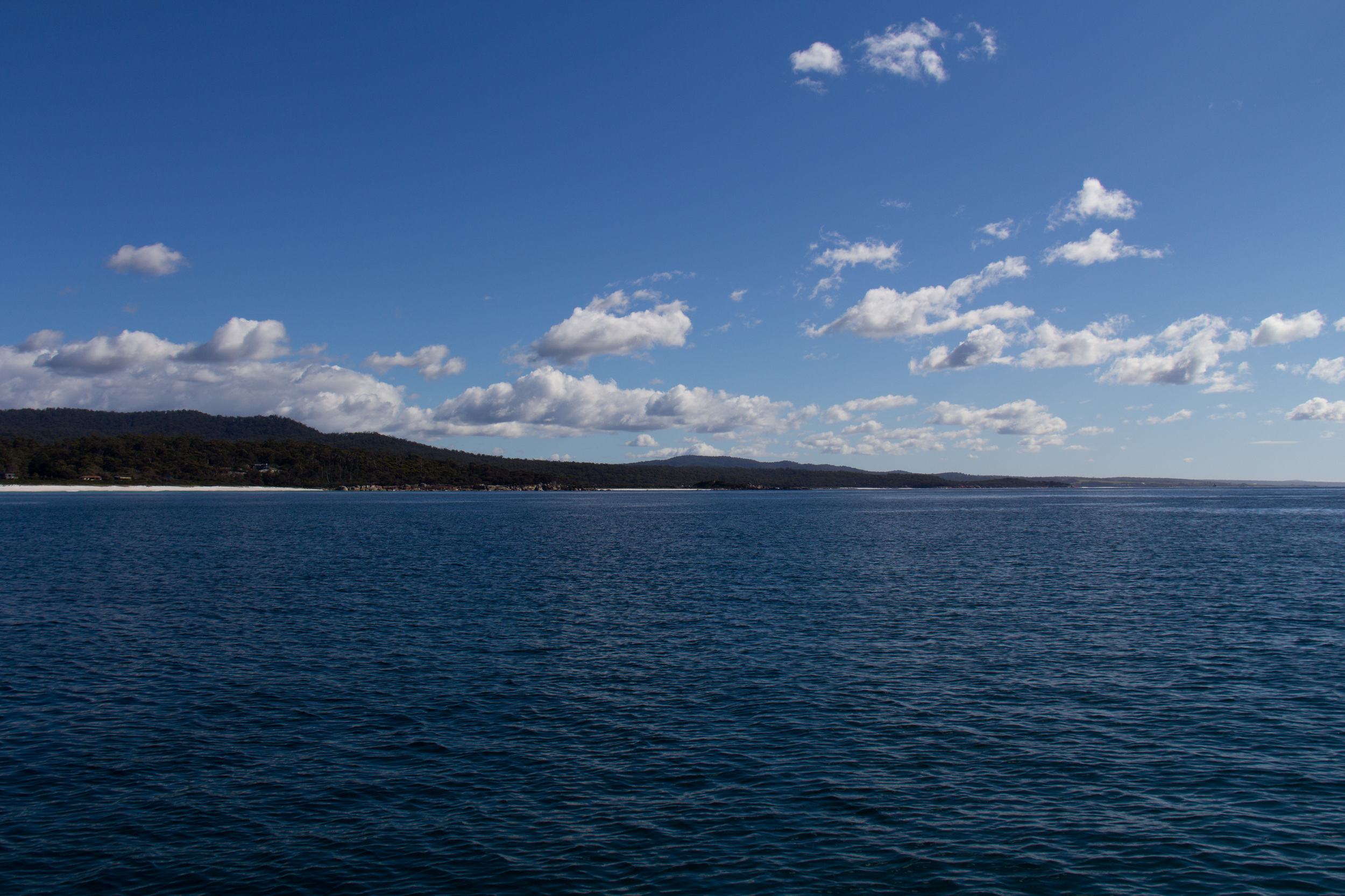 The nicest anchorage of the trip, Bay of Fires, Tasmania. Right next to home.....