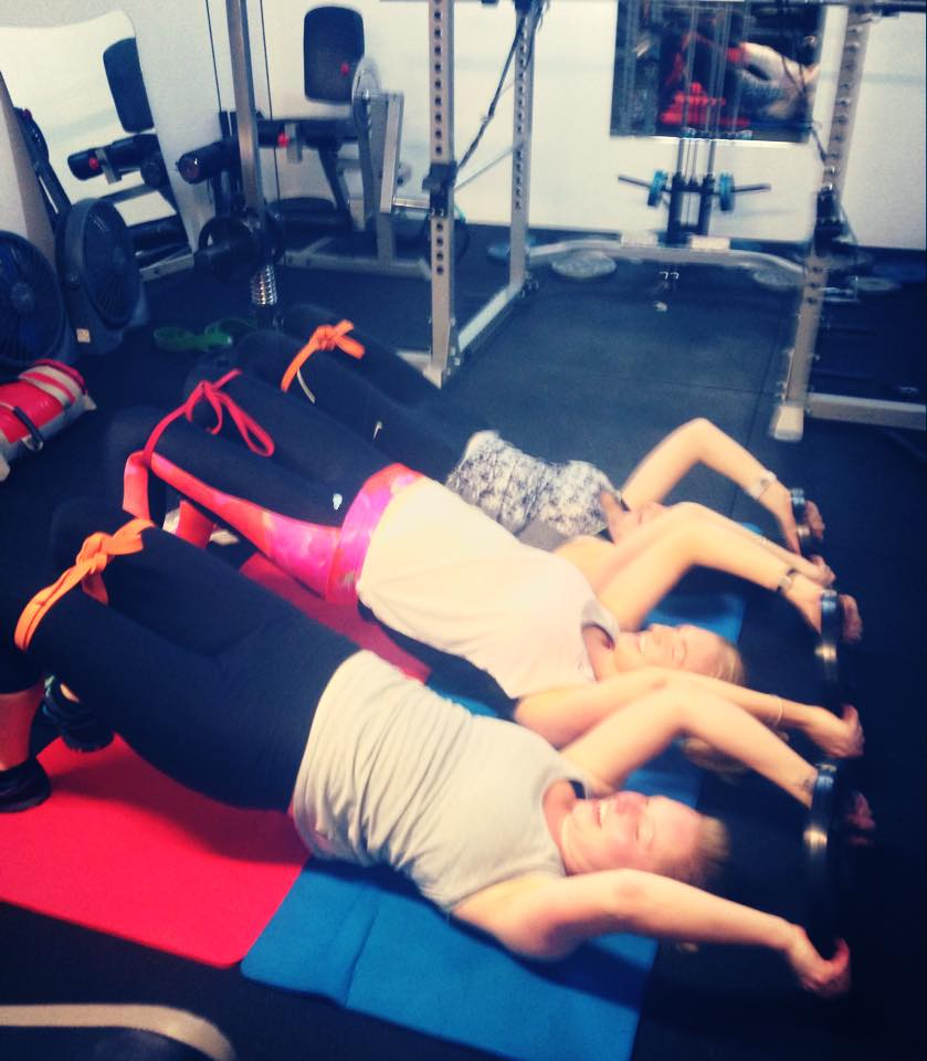 Small group Personal training, love bringing people together and loved my clients