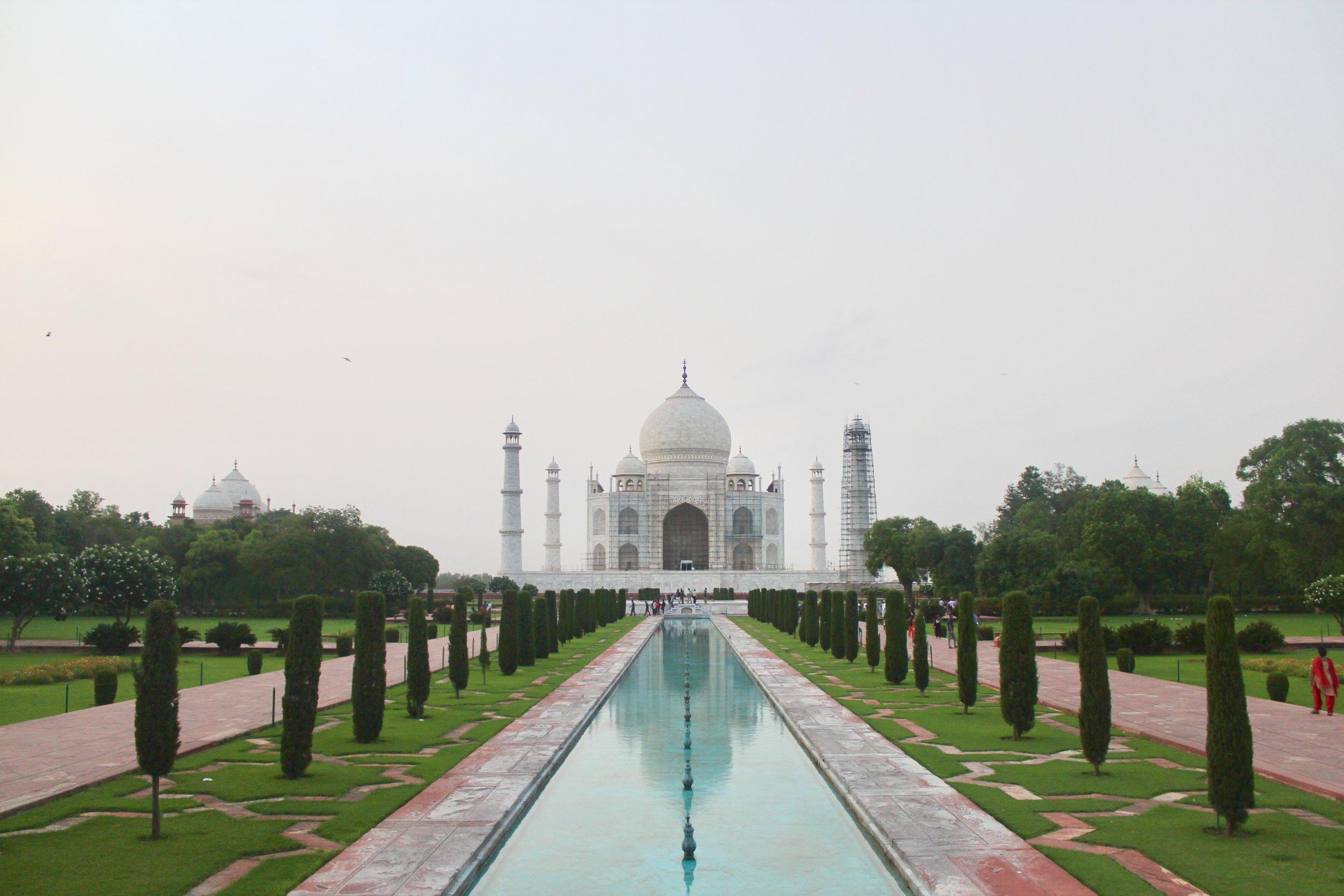 Taj Mahal . July 2017