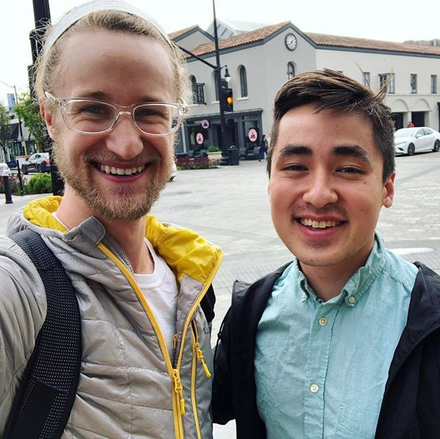 It's amazing how with good friends you can pick up right where you left off, even if you haven't seen each other in person in months or years! #SiliconValley #WeekendTrip