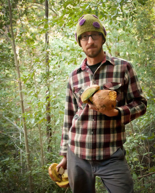 Trent Pearce with Boletes