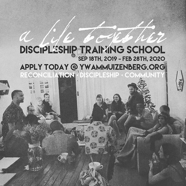 Here we go again! A Life Together DTS 2019 application are officially open. Come and join us for a six month adventure into God's dream of a reconciled world. LINK IN BIO 🤲🏻🇿🇦 #YWAM #dts #alifetogetherdts #jesus #justice #peace