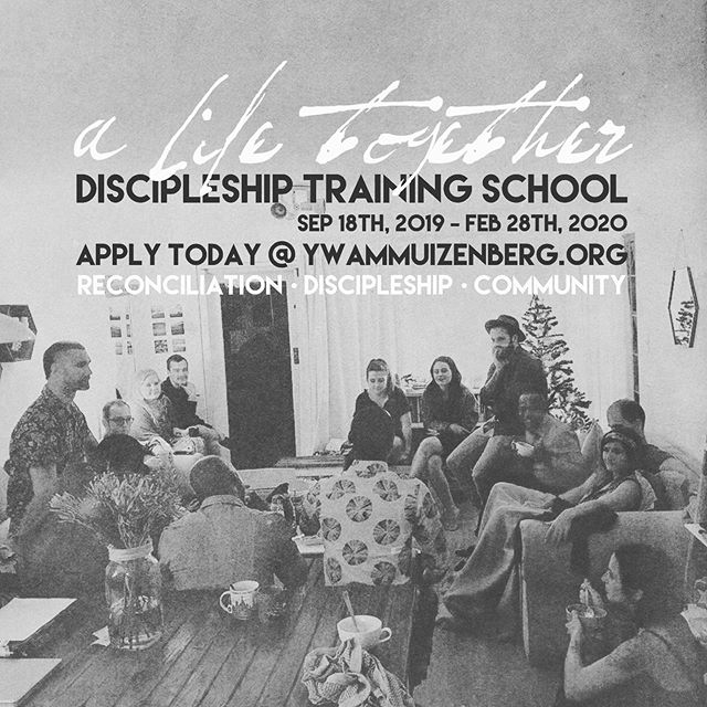 Still plenty of time to apply for our 2019 @alifetogetherdts kicking off this September here in Cape Town! Come and join us for a six month journey of exploring Jesus's way of peace in a violent world. 🤲🏻 APPLY TODAY (link in bio)