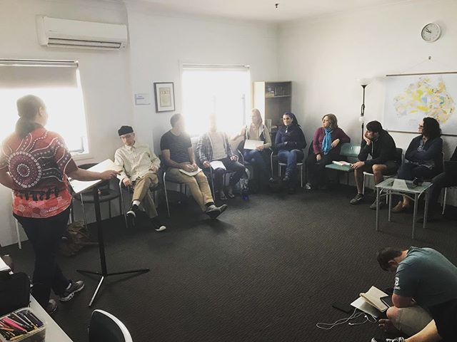 """""""Jesus is the great Un-Settler. If we don't let Jesus unsettle us, how do we love our neighbor, love God?"""" - @brookeprentisgrasstree (Waka Waka woman, Aboriginal Christian Leader opening up our first week of the LTN Module Two on 'Decolonizing Missions')"""